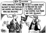 free-speech dialogue