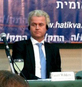 Geert Wilders in Tel Aviv