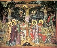 Crucifixion by Theophanes of Crete